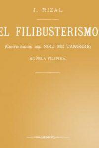 libro: El filibusterismo