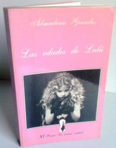 Las edades de Lulú - Libro de Almudena Grandes
